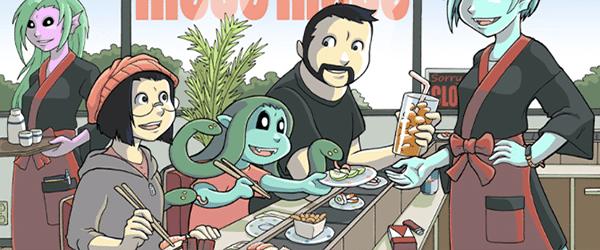 Modest Medusa webcomic banner image