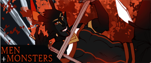 Men+Monsters webcomic banner image