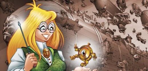 Girl Genius webcomic banner image