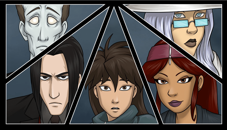 Monster Soup webcomic banner image