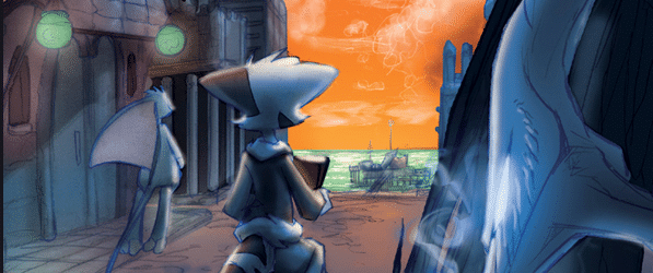 Dreamkeepers webcomic banner image