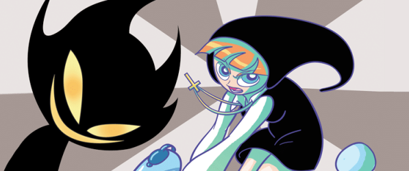 Sister Claire webcomic banner image
