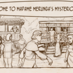Merunga's Menagerie webcomic banner image