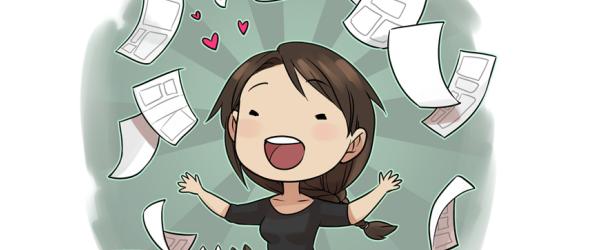Miki's Mini Comics webcomic banner image