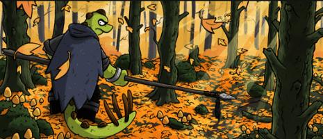 Charlie Ironpaw webcomic