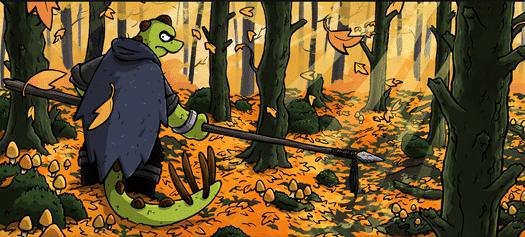 Charlie Ironpaw webcomic banner image