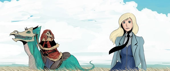 The Wastelands webcomic banner image