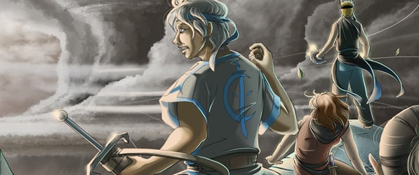 The War of Winds webcomic banner image