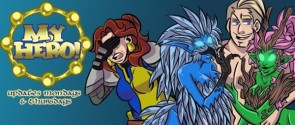 My Hero! webcomic banner image