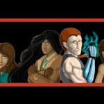 The Only Half Saga webcomic banner image