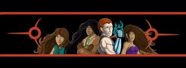 The Only Half Saga webcomic banner image