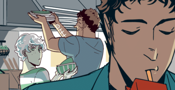 Saint for Rent webcomic banner image