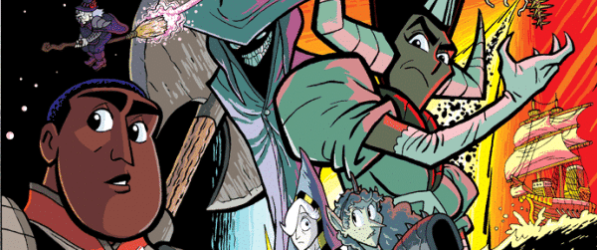 Monster Lands webcomic banner image