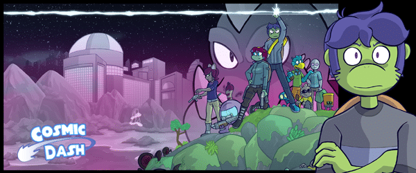 Cosmic Dash webcomic banner image