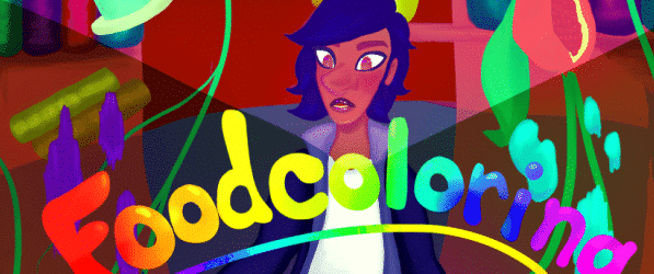 Food Coloring webcomic banner image