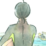 The Girl Who Walks The Waves webcomic banner image