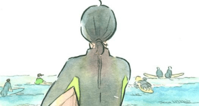 The Girl Who Walks The Waves webcomic