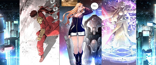 Trinity Wonder (트리니티 원더) webcomic banner image