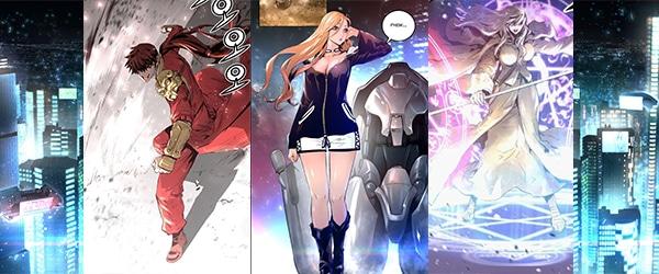 Trinity Wonder webcomic