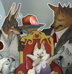 Miss Kitty and Her Bodyguards webcomic banner image