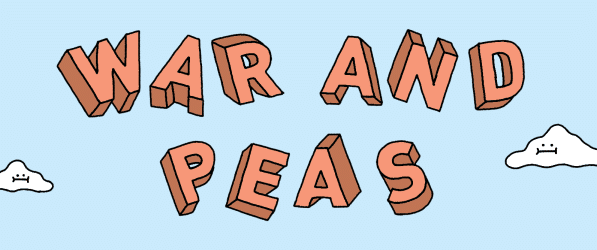 War and Peas webcomic banner image