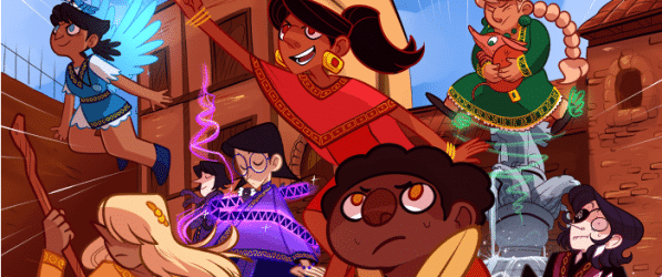Never Satisfied webcomic banner image
