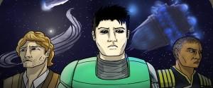 Half-Man webcomic banner image