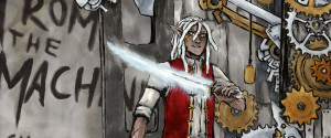 From the Machine webcomic banner image