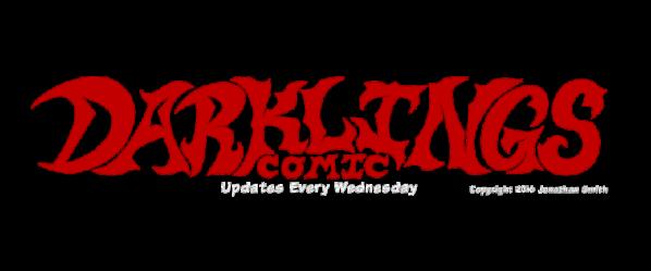 Darklings Comic webcomic banner image