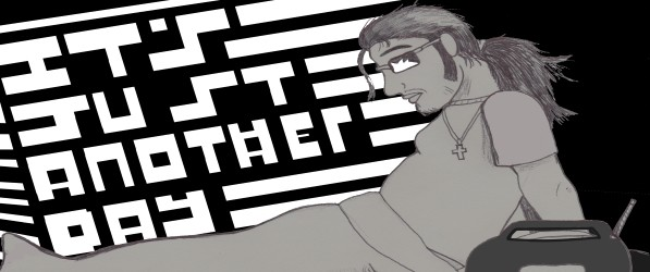 It's Just another day webcomic banner image