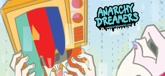 Anarchy Dreamers webcomic banner image