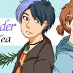 Lavender Tea webcomic banner image