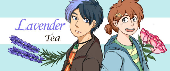 Lavender Tea webcomic banner image