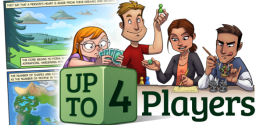 Up to Four Players webcomic banner image