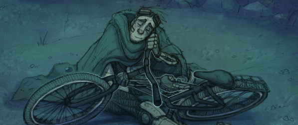 Bicycle Boy webcomic banner image