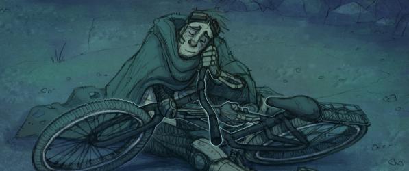 Bicycle Boy webcomic banner image