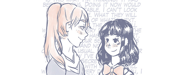 Our Story Begins With webcomic banner image