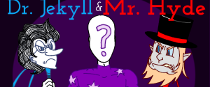 MK's The Strange Case of Dr. Jekyll and Mr. Hyde webcomic banner image