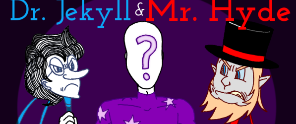 MK's The Strange Case of Dr. Jekyll and Mr. Hyde webcomic banner image