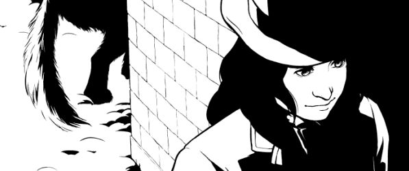 Black Dram webcomic banner image