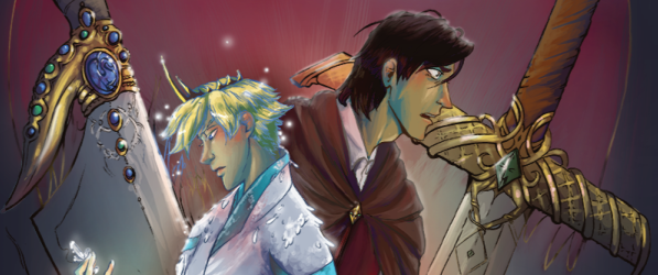 The Prince and The Swan webcomic banner image