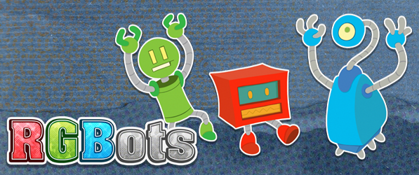 RGBots webcomic banner image