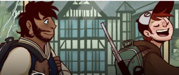 Dead City webcomic banner image