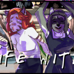My Life With Fel webcomic banner image