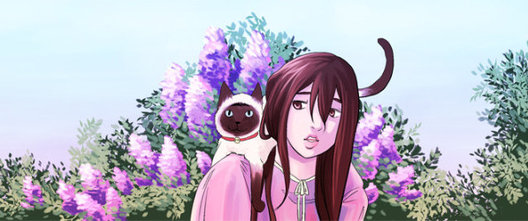 Fine Sometimes Rain webcomic banner image