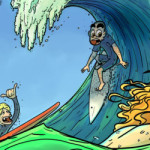 Surfer Joe webcomic banner image