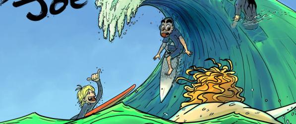 Surfer Joe webcomic banner image