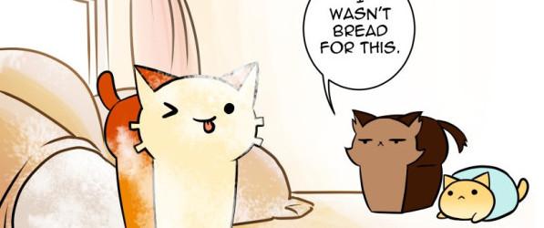 Cat Loaf Adventures webcomic banner image