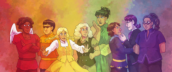Leif & Thorn webcomic banner image