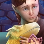 Gifts of wandering ice webcomic banner image